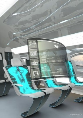 The-future-by-Airbus-Smart-Tech-Zone-Morphing-seats-can-harvest-passengers-body-heat-to-power-aircraft-systems-such-as-holographic-pop-up-pods-as-shown-here-in-the-Airbus-Concept-Cabin-S
